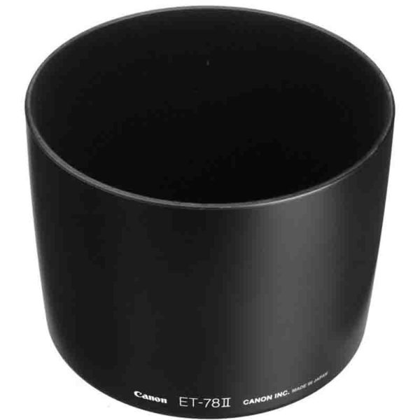 Tube like lens hood for longer focal length lenses Canon ET-78II Lens Hood for EF 135mm f/2.0L, 180mm f/3.5L Lens