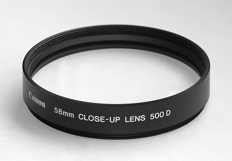 Canon 58mm Diopter Lens