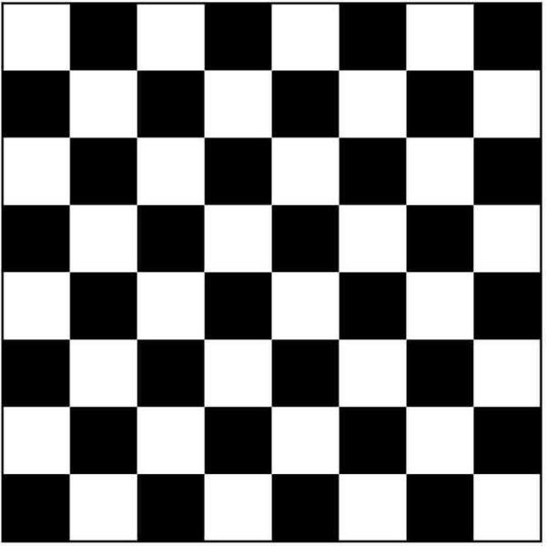 black and white chess board top down view