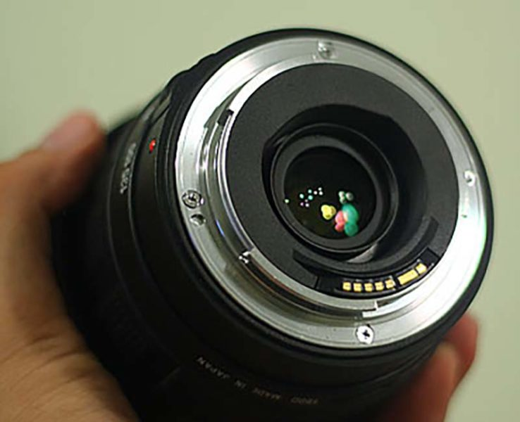 EF-lens-mount on a Canon Lens