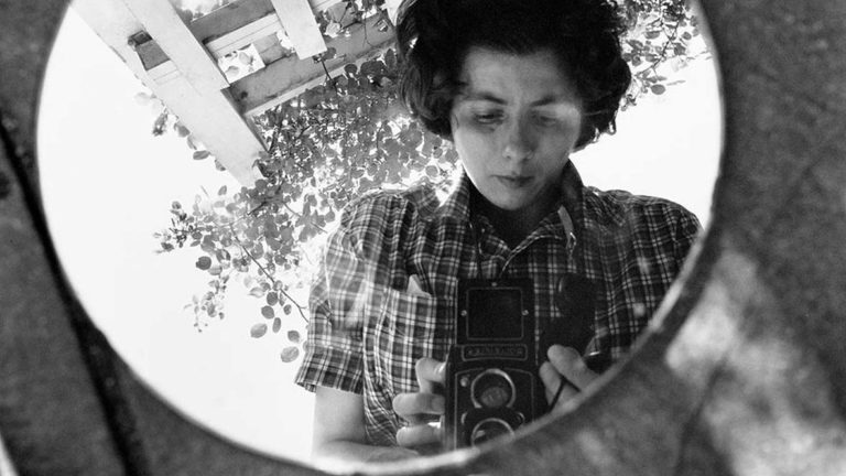 Self portrait of Vivian Maier