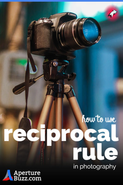 Use the reciprocal rule in photography