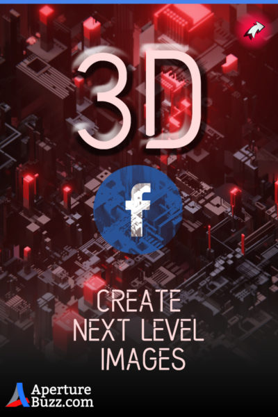 Create 3D Facebook Images For Your Posts,Cover Photo, Page, Banner or Illustrations