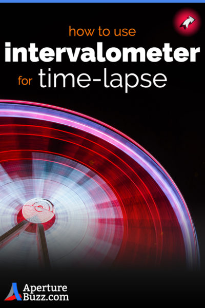 Use an external intervalometer to shoot timelapse images