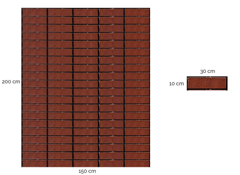 Magic brick wall illustration used to explain image resolution