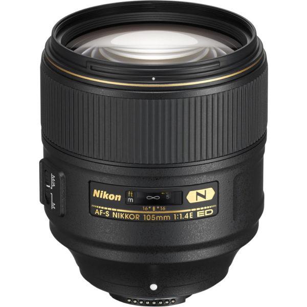 Nikon 105mm f1.4 E ED lens