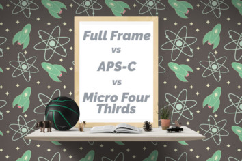 Full Frame, APS-C, MFT sensor camera metrics conversion