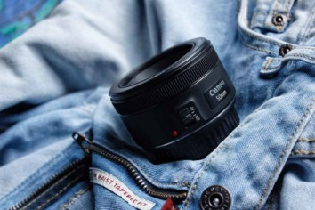 Canon EF 50mm f/1.8 STM Lens for Canon Cameras. The Nifty Fifty lens